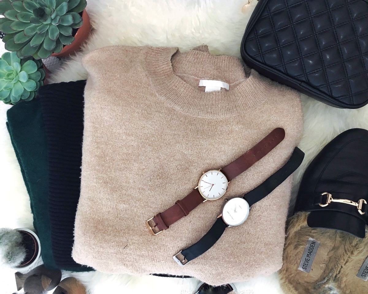 Sweater season: Three warm winter looks